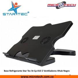 Base Refrigerante Star Tec St-Cp-010 2 Ventiladores 4Hub