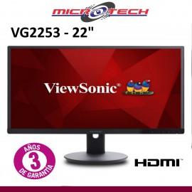 "ViewSoniC VA2261-2 Monitor LED de 22"""