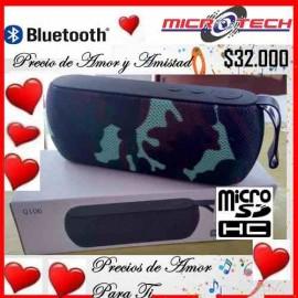 Altavoz Q106 S inalámbrico Hifi Bluetooth