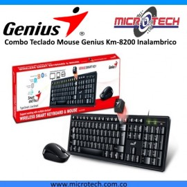 Combo Teclado Mouse Genius Km-8200 Inalambrico