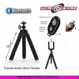 Tripode Araña 18cm Flexible