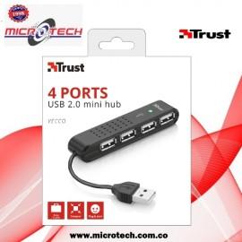Mini Hub USB 2.0 4 Ports trust