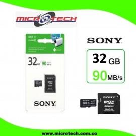 Memoria Micro SD 32GB Marca Sony