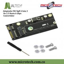 Adaptador M2 Ngff A Sata 3 De 2.5 Hasta 6 Gbps Convertidor